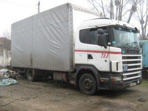 Scania 4 series 2001 b_u_zapchasti